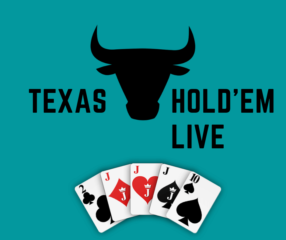 Live Texas Hold'em poker online casinos