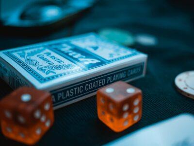 bridge and poker cards