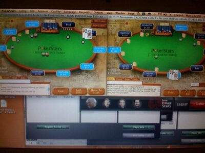 poker multi tabling