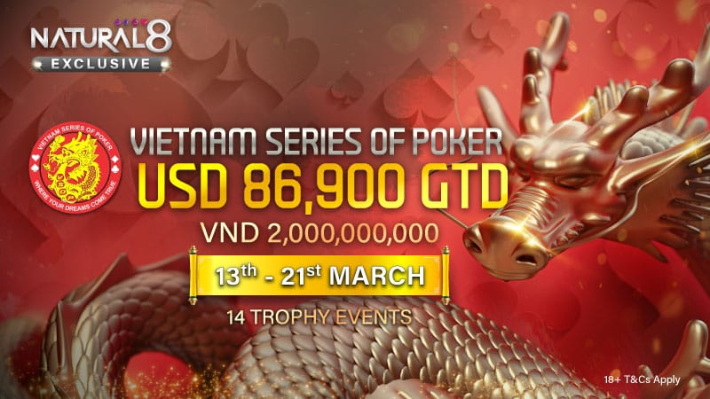 Vietnam Series Of Poker (VSOP) Launches On Natural 8!