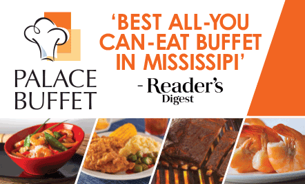 Palace Buffet Named Best Buffet in Mississippi By Readers' Digest